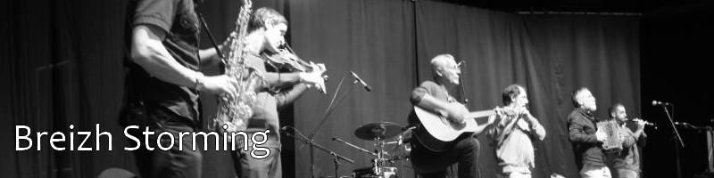 Breizh Storming, groupe de musique