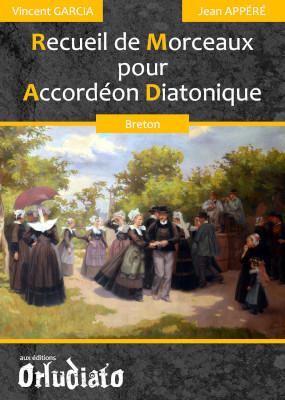 Recueil de Morceaux pour Accordéon Diatonique - répertoire Breton