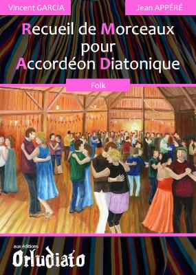 Recueil de Morceaux pour Accordéon Diatonique - répertoire Folk